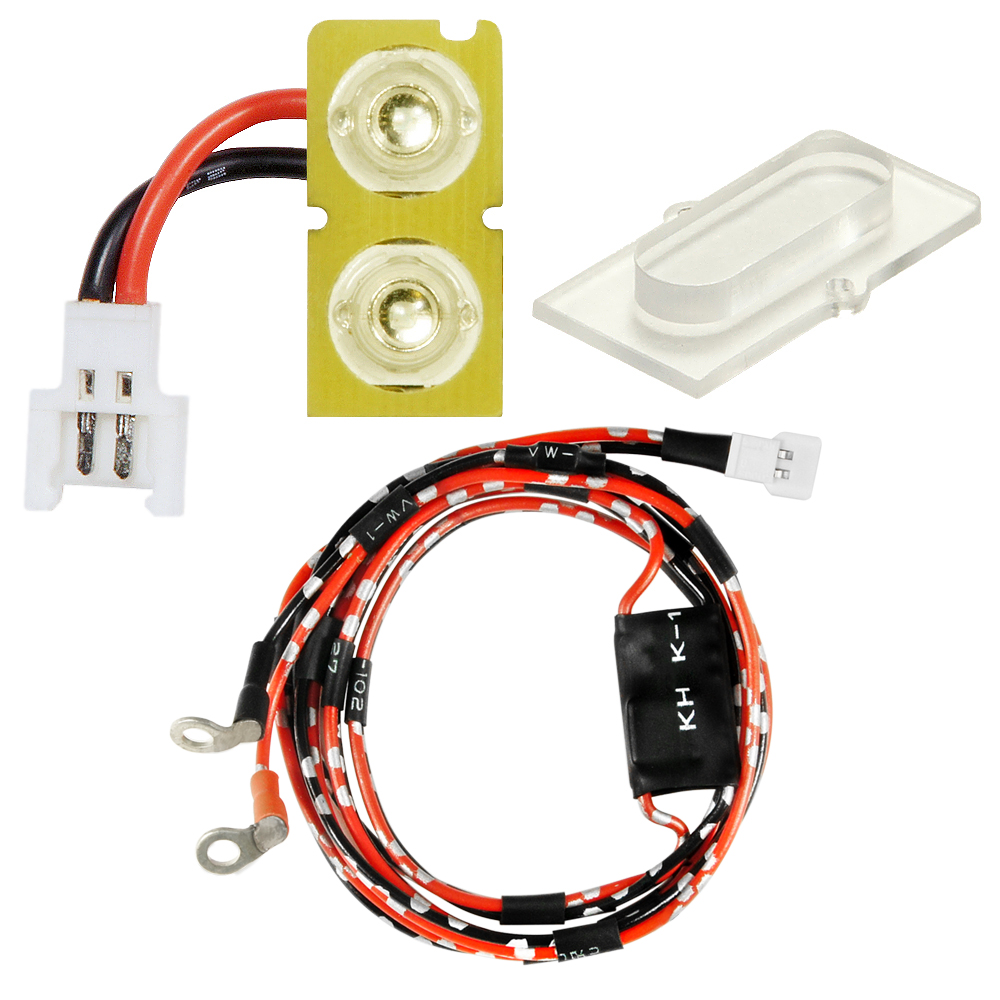 Single UV LED Board w/ Clear Cover and New Module set (for MAXX ME/MI Hopup series)