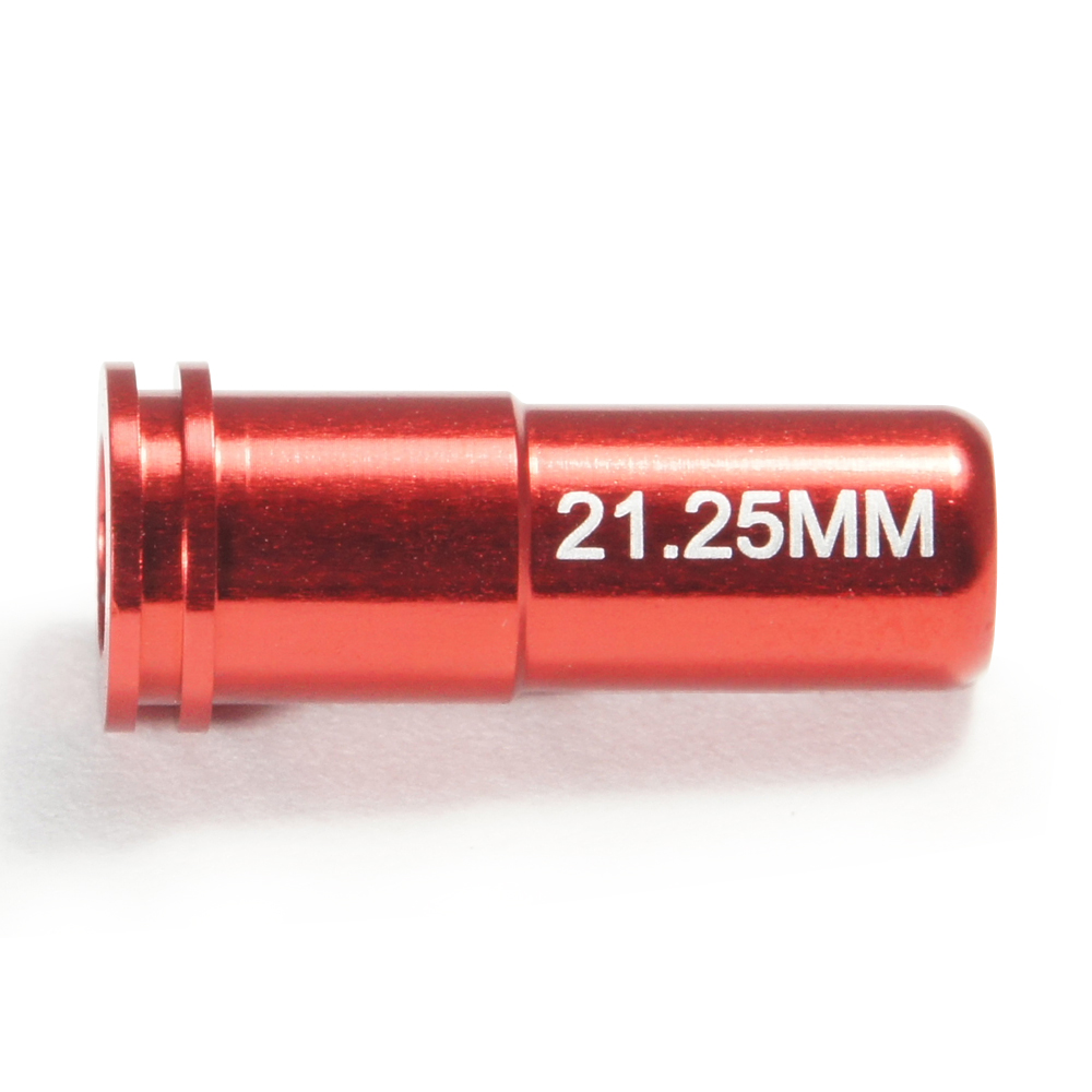 CNC Aluminum Double O-Ring  Air Seal Nozzle (21.25mm) for Airsoft AEG Series