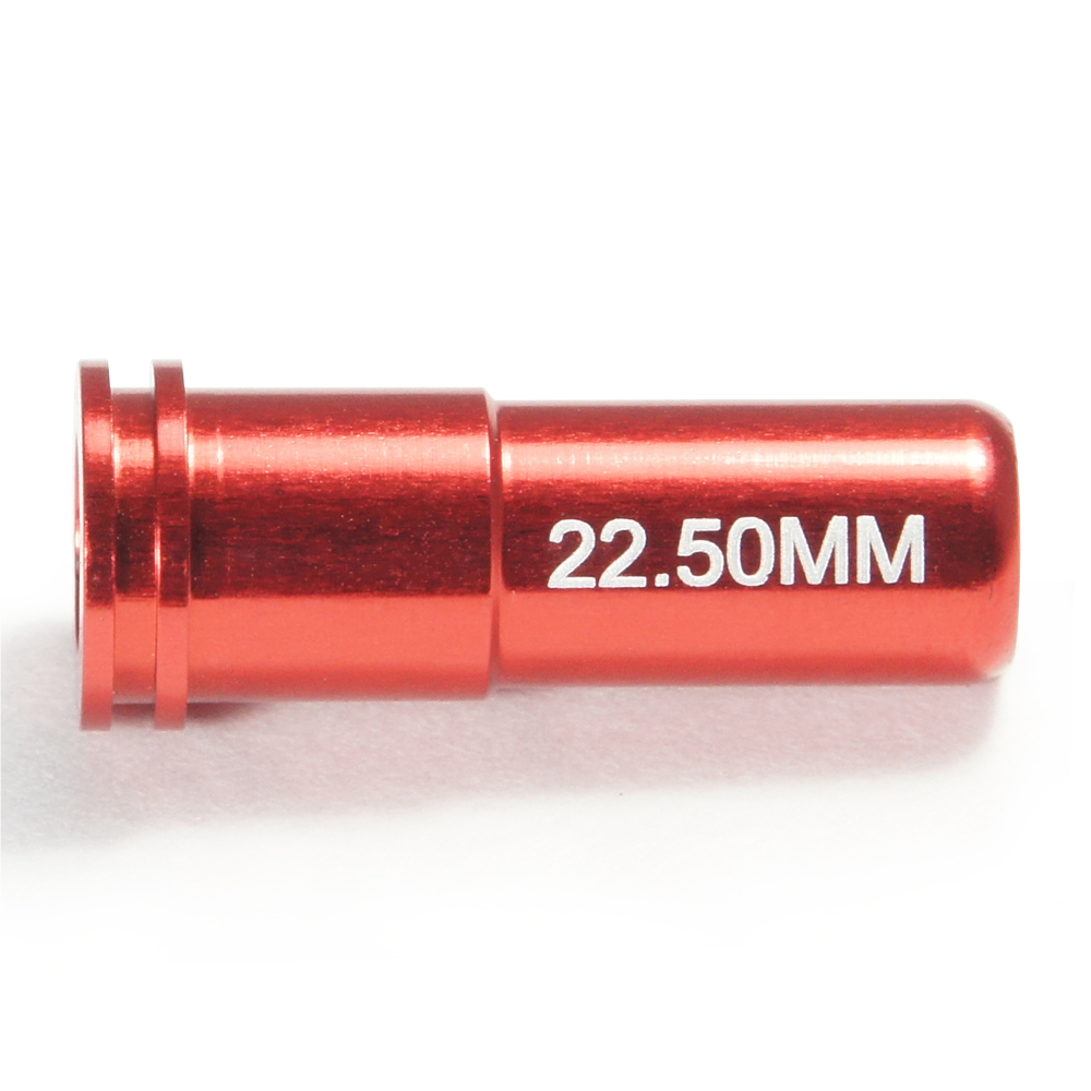 CNC Aluminum Double O-Ring  Air Seal Nozzle (22.50mm) for Airsoft AEG Series